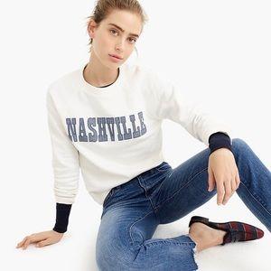 J. Crew Nashville Pullover Sweatshirt